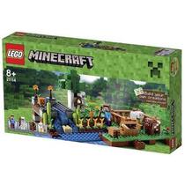 Lego 21114 - Minecraft The Farm A Fazenda 262 Peça Nacional