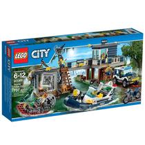60069 - Lego City Police - Delegacia Da Policia Do Pantano