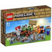 Lego 21116 - Minecraft Crafting Caixa Criativa 518 Peças