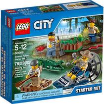 Lego City 60066 - Iniciação Da Polícia No Pântano