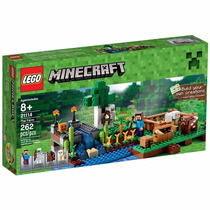 Lego Minecraft 21114 A Fazenda Com 262 Peças