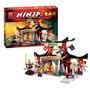 Kit Ninjago Lego Compatível - Templo 214 Pçs E 4 Bonecos