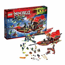Lego Ninjago Voo Final Do Barco Do Destino 70738