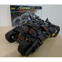 Batman The Tumbler X Coringa - 325 Peças - Similar Ao Lego