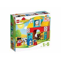Brinquedo De Montar Lego Duplo Minha Primeira Fazenda 10617