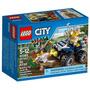 Lego City 60065 Patrulha Off-road Com 59 Peças
