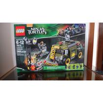 Lego Tartaruga Ninja Turtle Van Takedown 79115