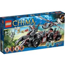 Lego Chima - O Covil De Combate De Worriz 70009
