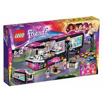 Lego Friends - O Onibus De Turnê Da Pop Star 41106 682 Peças