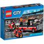 Lego City 60084 Transportador De Motocicletas De Corrida