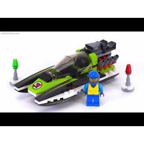 Brinquedo De Montar Lego City Race Boat Barco Corrida 60114