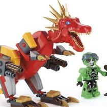 Lego C. Transformers Dinossauro Force Blocos De Montar Kre-o