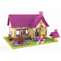 Casa Familia 457 Peças Brinquedo Montar Meninas