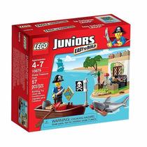 Novo Lego Juniors Piratas Em Caça Ao Tesouro 10679