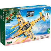 Bloco De Montar Banbao Força Tática Avião De Guerra 8237