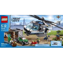 60046 Lego Policia De Lego City Perseguição Com Helicóptero