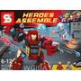 Lego Similar Homem De Ferro Ultron Robo Super Herois 261 Pcs