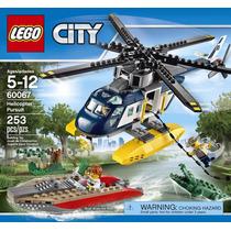 Lego 60067 City Cidade - Helicopter Pursuit 12x