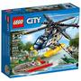 Brinquedo Novo Lego City Perseguição Helicóptero 60067