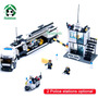Brinquedo Delegacia De Policia Tipo Lego 511 Peças Coleção