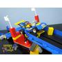 Pista Colisão E Saltos Carros F1 Motor Sport Mega Bloks Lego