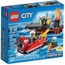 Lego City - Conjunto Iniciação Para Combate Ao Fogo 60106
