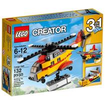 Brinquedo Novo Lego Creator Helicóptero De Carga 31029