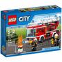 Lego City 60107 Caminhão Com Escada De Combate Ao Fogo 214pç