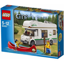 Lego City - Trailer 60057 - Camper Van - Pronta Entrega
