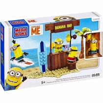 Mega Bloks Minions - Conjunto Grande - Dia De Praia - Mattel
