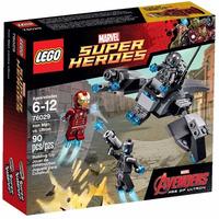 Tk0 Lego Marvel 76029 Avengers Iron Man Vs Ultron 90pcs