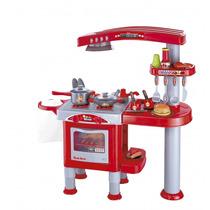 Kit Super Chef Cozinha Fogão Brinquedo Infantil Forno 4898