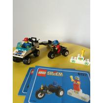 Lego Cidade 6327 - Team Turbo (1998) Completo, Antigo, Raro