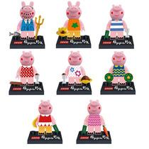 Kit Lego Peppa Pig - Coleção Completa - 8 Bonecos