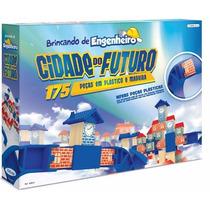 Cidade Do Futuro Xalingo- Blocos Para Montar 175 Pç Top