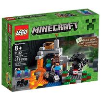 Lego Minecraft 21113 A Caverna Com 249 Peças
