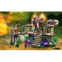 Lego 70749 Ninjago Entrada Na Serpente 529 Peças