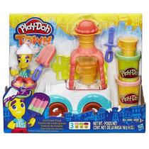 Massa De Modelar Play-doh Town - Carro De Sorvete - Hasbro
