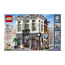 10251 Lego Creator Expert Brick Bank Importado + 2 Brindes