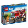 Lego City Caminhão Com Escada De Combate Ao Fogo - Ref 60107