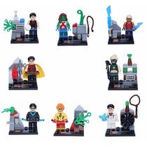 Kit Lego Super Heróis - Jovens Titans - Coleção Completa