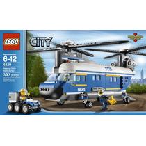 Lego City Police 44339 - Helicoptero De Carga