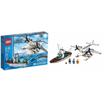 60015 Lego City Aviao Da Guarda Costeira