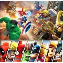 Action Figures Lego Marvel Avengers Kit 8 Minifiguras Novos