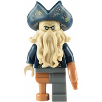 Lego Boneco Series Pirates Of The Caribbean - Davy Jones