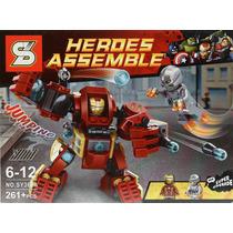 Brinquedo Similar Lego Marvel Avengers Arm. Homem De Ferro
