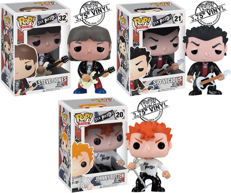 Sex Pistols Action Figures - Laughing Squid
