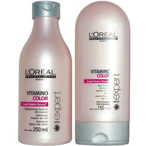 Loreal Vitamino Color Kit Shampoo + Condicionador Home Care