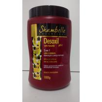 Reconstrução Capilar Desoxil Shambelle / Máscara / Limpeza P