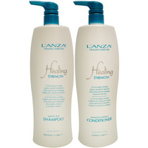Lanza 1l Strength Shampoo + Condicionador 1000ml Litro